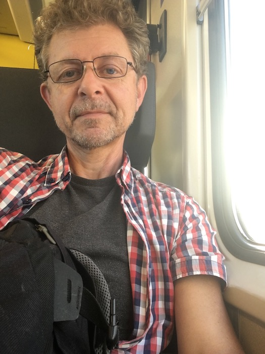 Me on a train to somewhere...! (2/2)